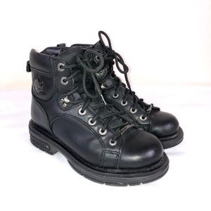 Harley Davidson Black Boots Women's Sz 6.5